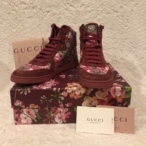 Gucci Be.ebony Dry Rose G.G. Bloom sneakers